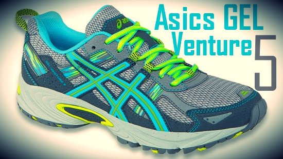 Asics GEL Venture 5 Trail Running Shoes Women