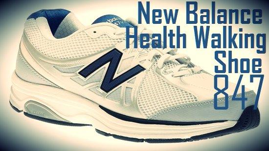 New Balance 847 Health Walking Shoe