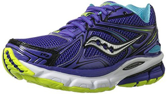 Saucony Hurricane 16 running shoes for metatarsalgia ball of foot pain