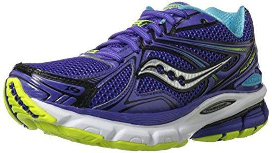 Saucony Hurricane 16 running shoes for metatarsalgia ball of foot pain
