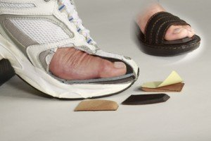 cluffy wedge for metatarsalgia baal of foot pain
