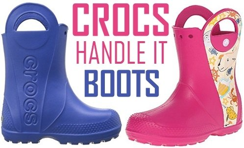 CROCS HANDLE IT BOOTS