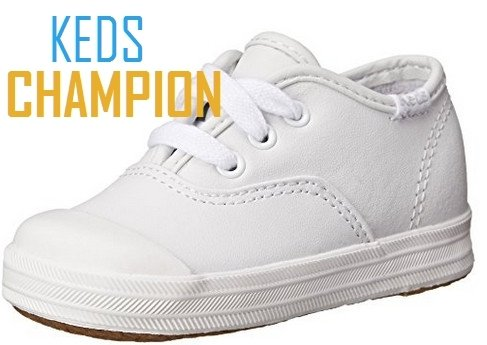 Champion Leather Toe Cap by Keds