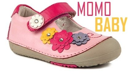 Momo Baby flower power mary jane