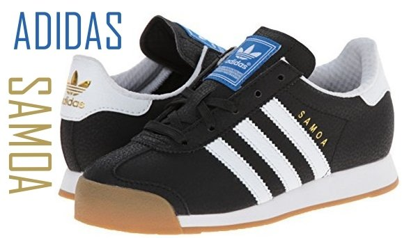 adidas Originals Samoa Sneaker (Little Kid Big Kid)