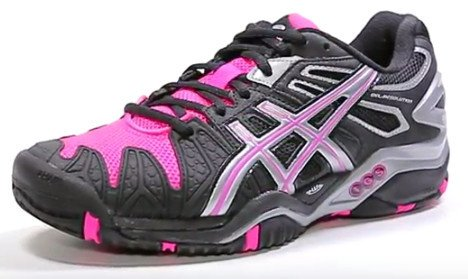 Asics Gel Resolution 5 tennis shoe