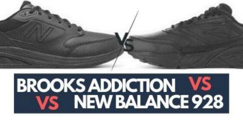 Logro ancla Monumental  Brooks Addiction Walker Vs New Balance 928 Comparison (2020 Update)