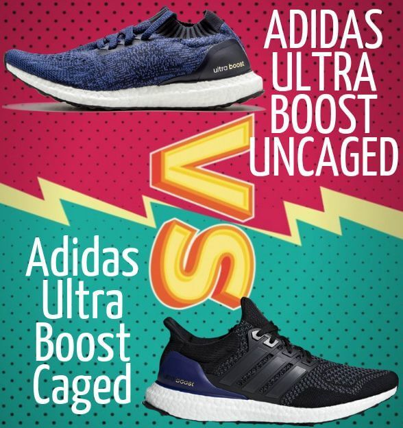 Converger cangrejo Diez años  Adidas Ultra Boost Caged vs Uncaged Review 2019