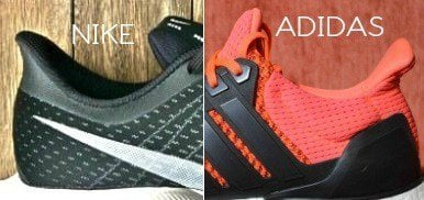 zoom adidas ultra boost