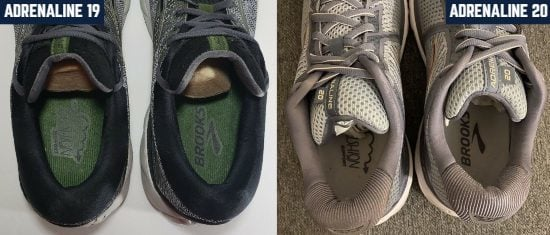brooks-adrenaline-gts-heel-collar-comparison