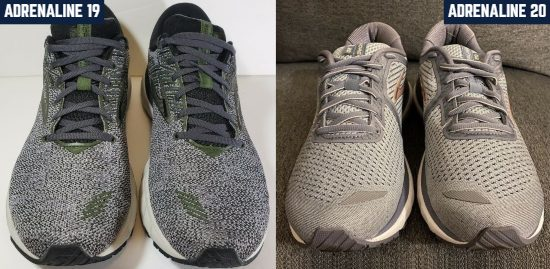 brooks-adrenaline-gts-upper-comparison
