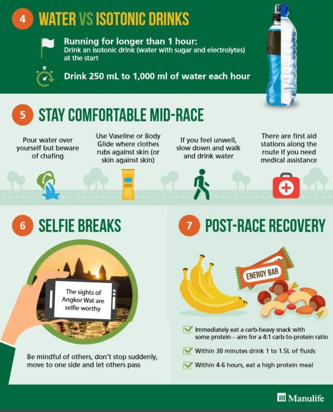 how-to-run-in-the-heat-infographic