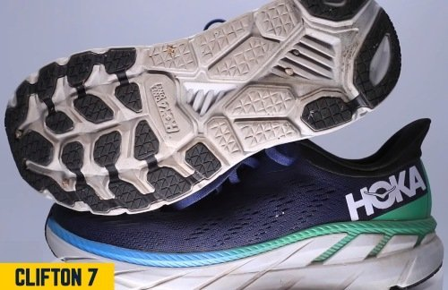 hoka-clifton-7-outsole