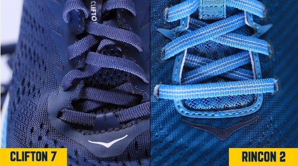 hoka-clifton-7-vs-rincon-2-upper-comparison