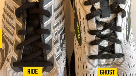 saucony-ride-vs-brooks-ghost-lacing-systems
