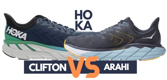 hoka-clifton-vs-arahi-comparison