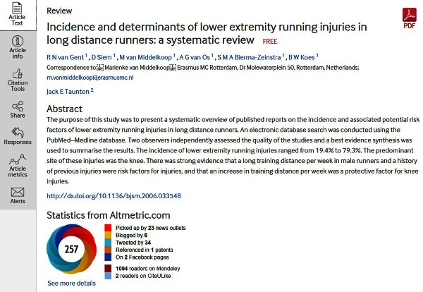 incidence-and-determinants-of-low-extremity-running-injuries-in-long-distance-runners-systematic-review